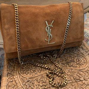 SAINT LAURENT Medium Kate Reversible Chain Bag
